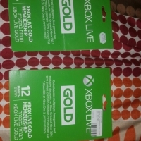 xbox one xbox 3 12 months gold membership subscription xbox live