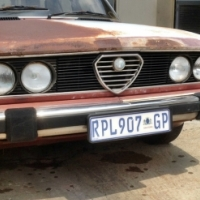 1983 ALFA ROMEO 6 - type 119 V6 A/T