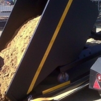 MINI SKIPS ROCKER BINS ON WHEELS X 6