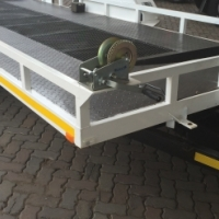 new car trailer with hydraulic system