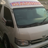 Toyota Quantum 14 Seater sisfikile sold with TAXI PERMIT