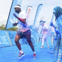 The Color Run – painting Plett for the holidays