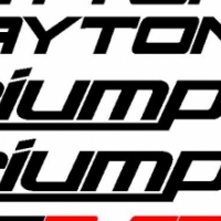 Triumph daytona 675R decals stickers graphics sets