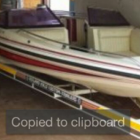 18 Footer Scimitar Ski/Speed Boat with 200 Hp Mariner Engine &Seperate bakkie 4 x 4 for sale.. read