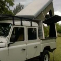 Land Rover Camper Canopy for Sale