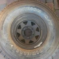 Tyre: Pirelli Scorpion A/T