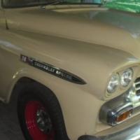1959 Chev Apache Bakkie, original, matching numbers