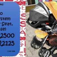 Pre-Loved Graco Travel System with Car Seat and Base SPECIAL!!!!