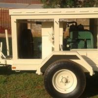 Trailer mounted 7.5kva Diesel Generator
