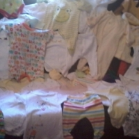 BABY UNISEX CLOTHES NB -3 MONTHS