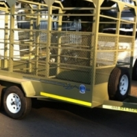 ((((( CATTLE TRAILERS )))))