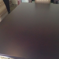 New unused Dining table and 6 chairs with sideboard