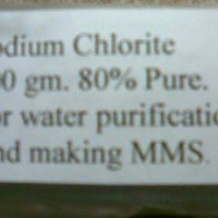 Sodium Chlorite 80% pure for Sale. MMS