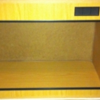 Pet accessories and wooden tank / terrarium for reptiles and other small pets