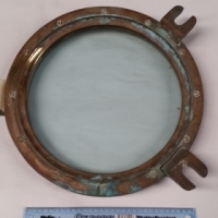 Original Antique Porthole Windows