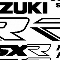 GSXR 1100 decals stickers graphics - 1988 year model