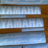 YZF Yamaha Thundercat decals stickers graphics kits