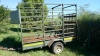 HORSE BOX FOR SALE WITH PAPERS!