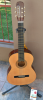 Cataluna Acoustic Guitar with stand and tuner