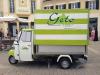 Gelato Soft Serve  Ice Cream Piaggio Mobile Cafe