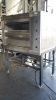2 DECK OVEN 4 PAN FULLY RECONDITIONED