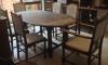 Solid Oak Dining Room Suite