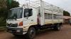 2008 Hino 500 15-257 Cattle Ra