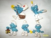 Smurf Figurines and Smurf Books.
