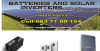 Batteries - Deep Cycle & Solar