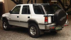 Isuzu Frontier right quarter g
