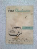 Fiat 1100: mechanical  book