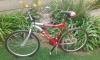 Bicycle for sale: Red Patriot - 18 speed bicycle.