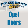 Opel doors new and used