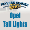 Opel Taillights new and used