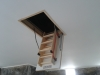 Timber loft ladder Roof Store