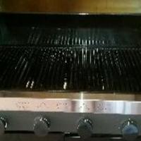 CADAC 4 Burner gas braai plus with gas stove