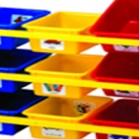 9 Bin 3 Tier Storage Organizer - Brand New in Cartons
