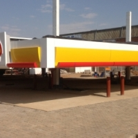 filling station canopies