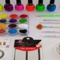 Nail Art Paint Set