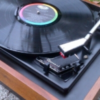 A Garrard SP25 MK3 Turntable in good condition with 12 LPs for sale!!!!