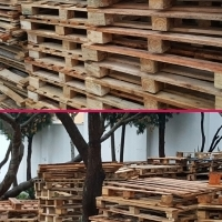 !!!! WOODEN PALLETS !!!! NEW AND USED !!!!