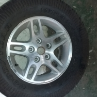 Mag Wheel With Tyre
