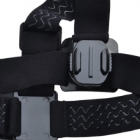 Headstrap for GoPro / Dazzne action Camera - by Sportguru online