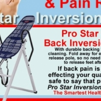 Inversion therapy /Back swing tables Experience the benefits