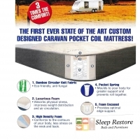 Pocket Spring caravan mattress