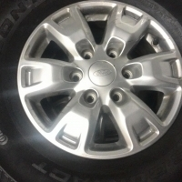 Continental 255x70 R16 - upgrade wheels