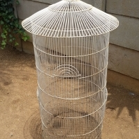 Round Parrot cage