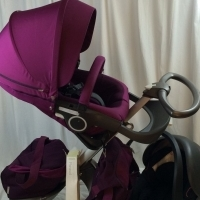 Stokke Xplory V4 Purple Travel System