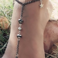 barefoot sandals, chokers and other jewellery and accessories