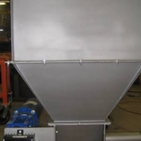 new industrial screw feeder volumetric T304SS